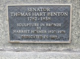 Plaque on memorial.